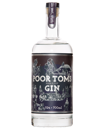 Picture of Poor Toms Fools Cut Gin 700mL
