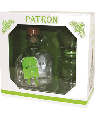 Picture of Patrón Silver Tequila & Glasses Gift Pack