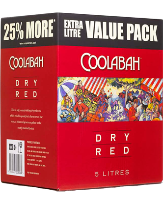 Picture of Coolabah Dry Red Cask 5L