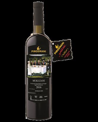 Picture of Pirosmani Georgian Dry Red Wine Mukuzani 2016