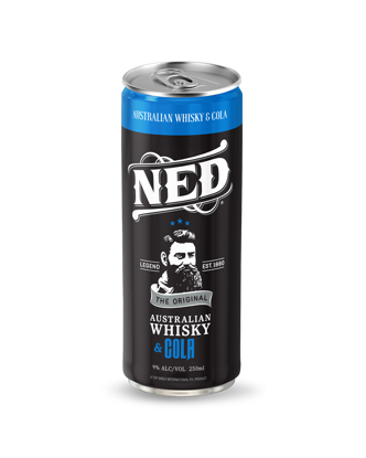 Picture of NED Whisky & Cola 9% 250mL