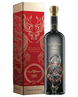 Picture of Royal Dragon Good Luck Vodka 700mL