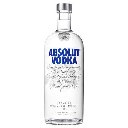 Picture of Absolut Vodka 1l