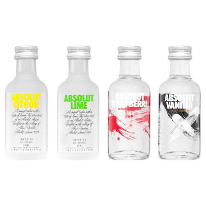 Picture of Absolut Vodka 4 Flav Min