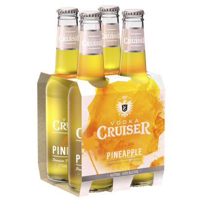 Picture of Vodka Cruiser Pure Pineapple 4pk