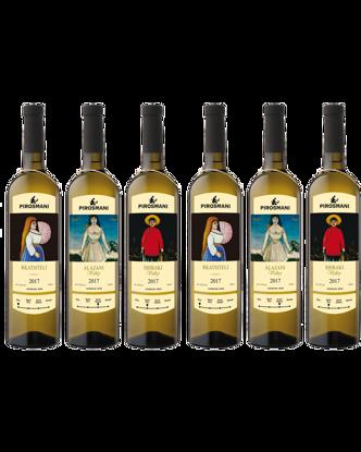 Picture of Pirosmani Georgian White Wines Set