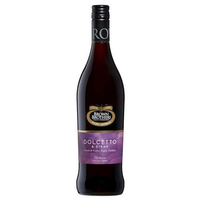 Picture of Brown Brothers Dolcetto Syrah Bottle
