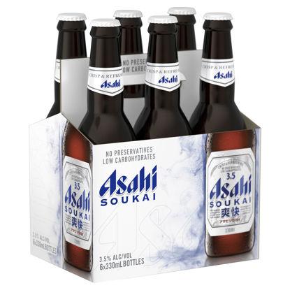 Picture of Asahi Soukai 3.5% Stubbies 6 Pk