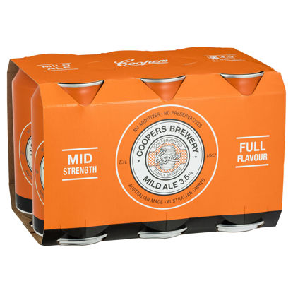 Picture of Coopers Mild Ale Can 6 Pk