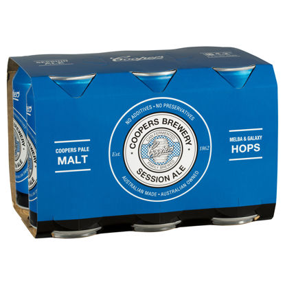 Picture of Coopers Session Ale Can 6 Pk