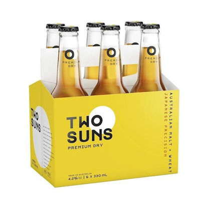 Picture of Two Suns Prem Dry 6 Pk