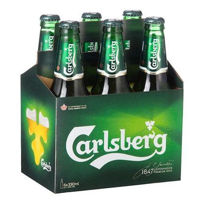 Picture of Carlsberg Stubbies 6 Pk