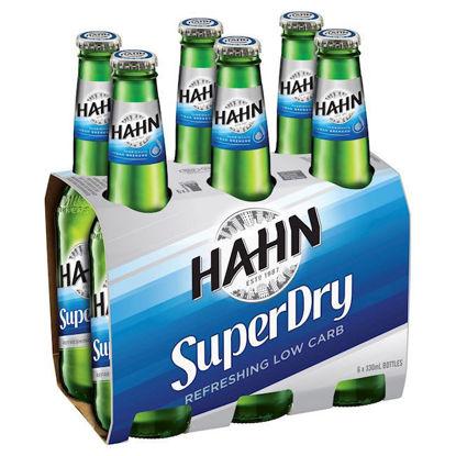 Picture of Hahn Super Dry Stubbies  6 Pk