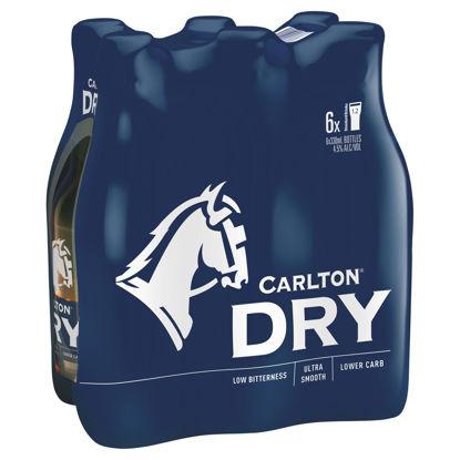 Picture of Carlton Dry Stubbies  6 x 375ml - 6 Pk
