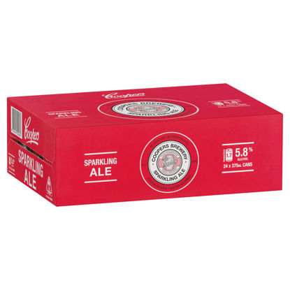 Picture of Coopers Sparkling Ale Cans Carton