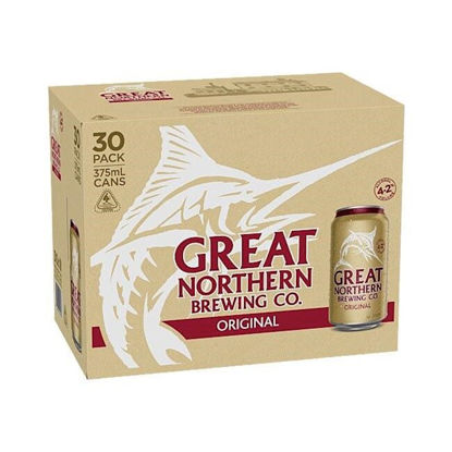 Picture of Great Northern Original 30Pk Can Block