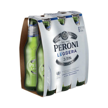 Picture of Peroni Leggera Stubbies  6 Pk