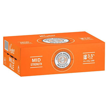Picture of Coopers Mild Ale Can Carton