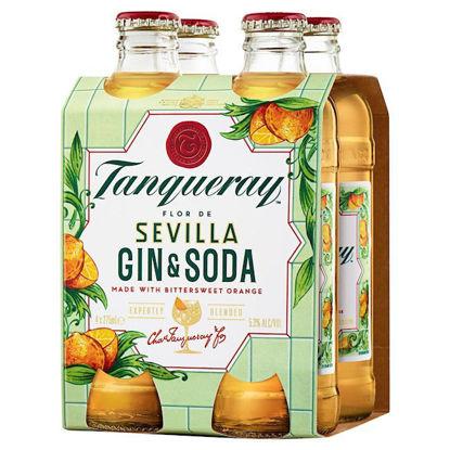 Picture of Tanqueray Sevilla & Soda 4 Pk