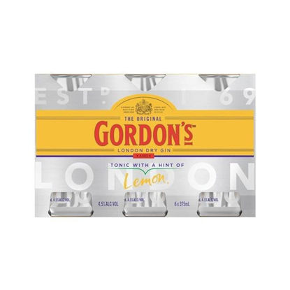 Picture of Gordons G&T 4.5% Can  6 Pk