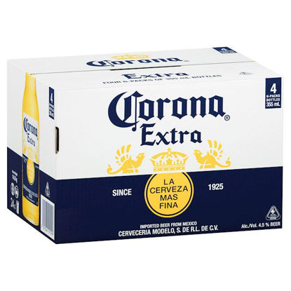 Picture of Corona Extra 355ml Stubbies 24 Pack