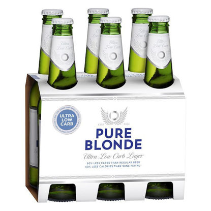 Picture of Pure Blonde Ultra Low Carb Lager 355ml Stubbies 24 Pack