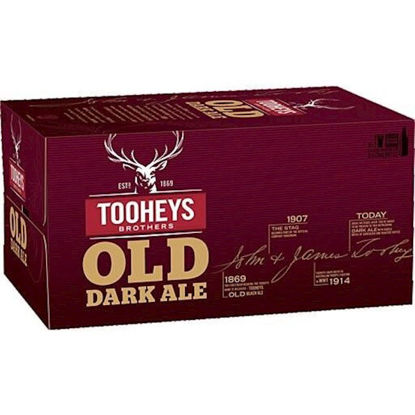 Picture of Tooheys Old 375ml Stubbie Carton 24 Pack