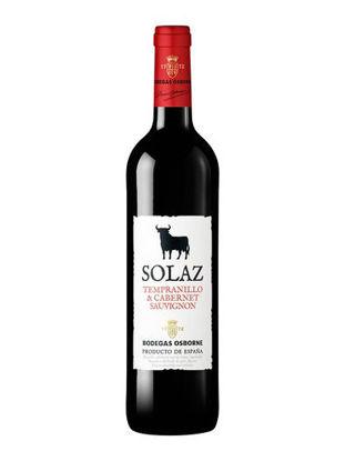 Picture of Solaz Temp Cabernet  Sauvignon   Bottle