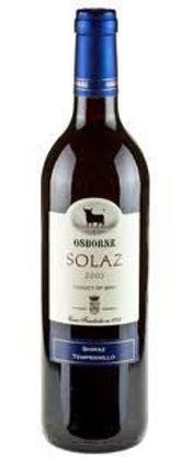 Picture of Solaz Temp Shiraz Bottle