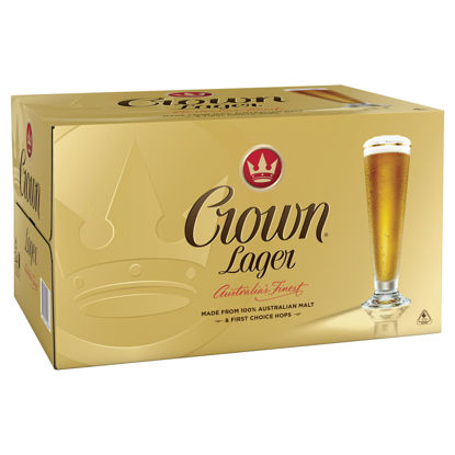 Picture of Crown Lager Stb  Carton