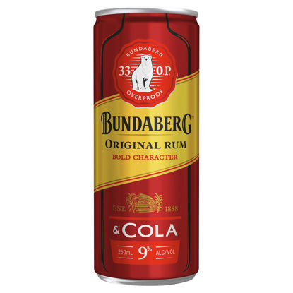 Picture of Bundy Op & Cola 375Ml Can 6 Pk