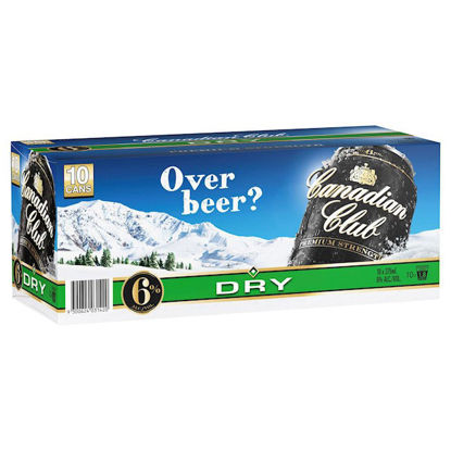Picture of Canadian Club& Dry 4.8% 10Pk