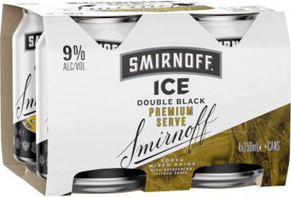 Picture of Smirnoff Ice Double Blk 9% 250Ml