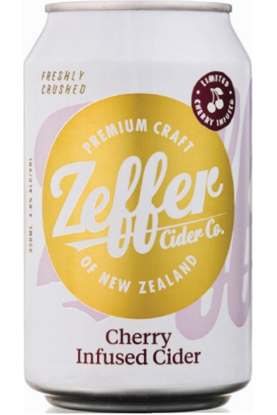 Picture of Zeffer Cherry Infused Cider 4 Pk