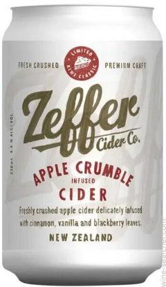Picture of Zeffer Crisp Apple Cider 4 Pk