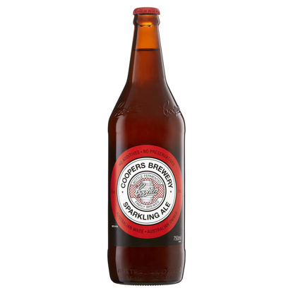 Picture of Coopers Sparkling Ale  Long Neck 3Pk 750ml Bottle