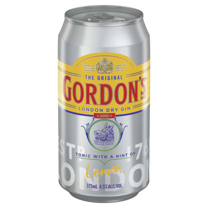 Picture of Gordons Gin & Tonic 375ml Can-Single