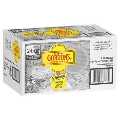 Picture of Gordons Gin & Tonic 24 x 375ml Can-Carton