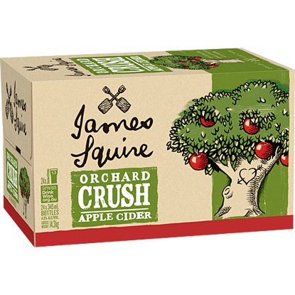Picture of James Squire Cloudy Apple Cider  x 24 Bottle-Carton