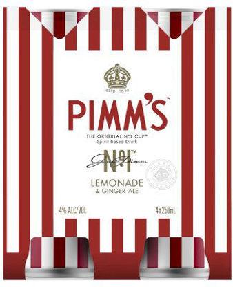 Picture of Pimms Long Lemon Premix 6 x 355ml Can-6Pk