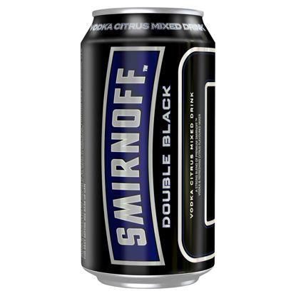 Picture of Smirnoff Double Black Vodka 330ml Can-Single