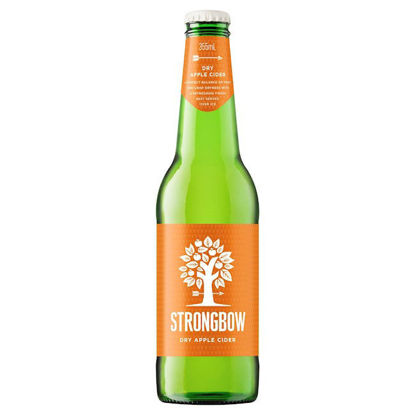 Picture of Strongbow Dry Apple Cider 330ml - Single