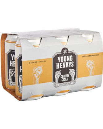 Picture of Young Henrys Apple Cider Can  x 6pk Bottle