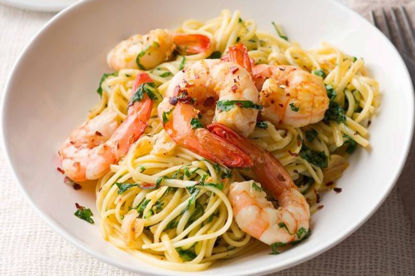 Picture of Chilli and King Prawn Linguine