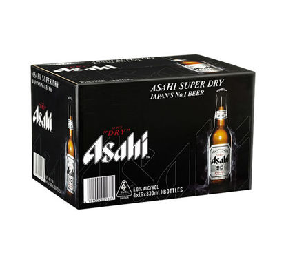 Picture of Asahi Super Dry  24 x 330 ml