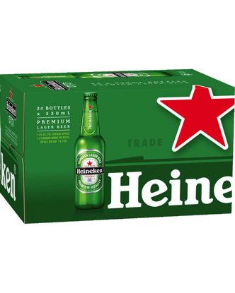 Picture of Heineken Bond 330ml Stubbies 24 Pack Carton