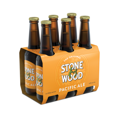 Picture of Stone & Wood Pacific Ale 330mL Stubbie 6 Pack Basket