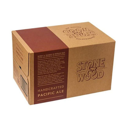 Picture of Stone & Wood Pacific Ale 330ml Stubbie 24 Pack Carton