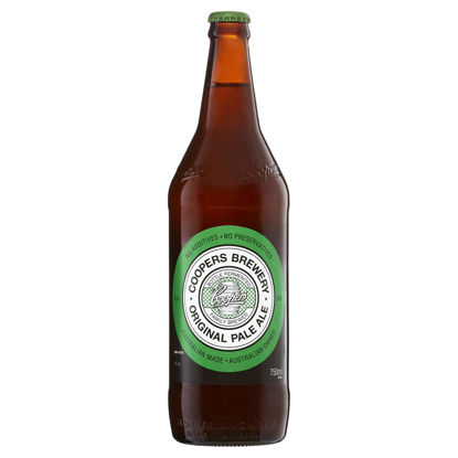 Picture of Coopers Pale Ale Long Neck Single 750ml Bottle