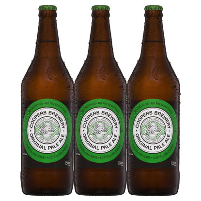 Picture of Coopers Pale Ale Long Neck 3Pk 750ml Bottle